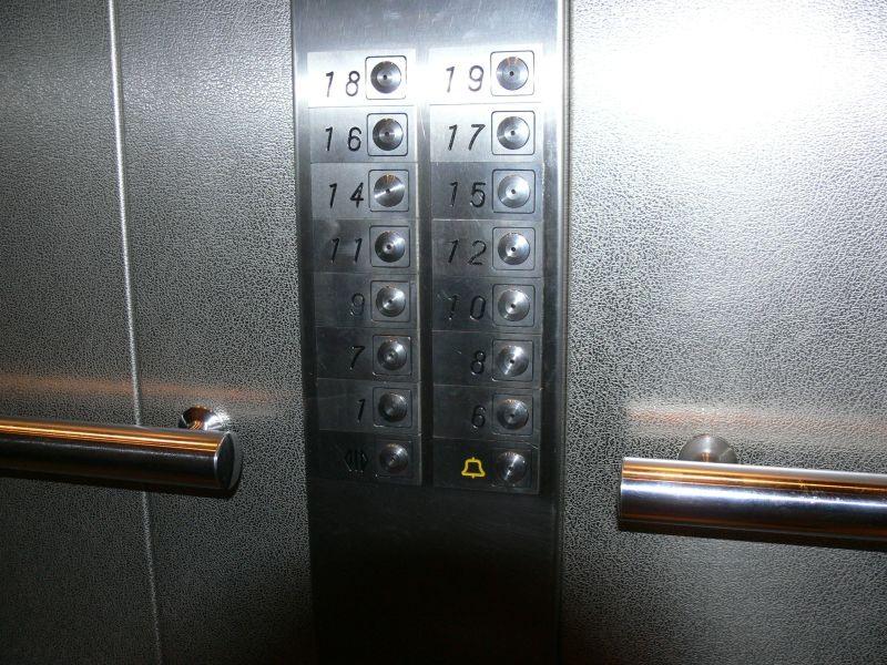 правила безопасности при пользовании лифтами